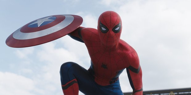 Loading The new Spider-Man is featured in the trailer for Captain America: Civil War. Photo / Marvel