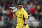 Steven Smith, Shane Watson, and James Faulkner have shelved their normal blades and sought a heftier piece of willow for the World T20. Photo / AP