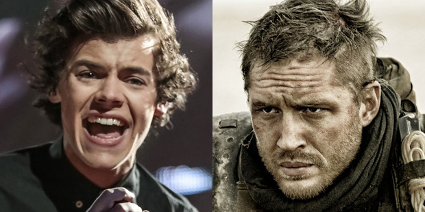 Harry Styles has gone straight in at the top. Dunkirk will be massive. Photos / AP