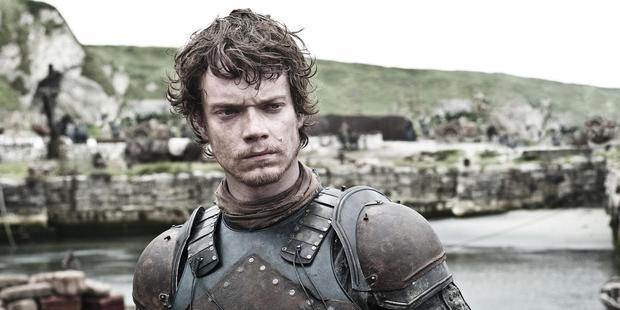 Loading Alfie Allen, Theon Greyjoy in Game of Thrones, says he's happy to talk to fans about the high-profile show.