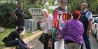 Watch: TPP Protest