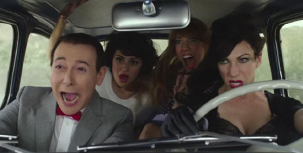 A scene from the movie Pee-wee's Big Holiday. Photo / Netflix