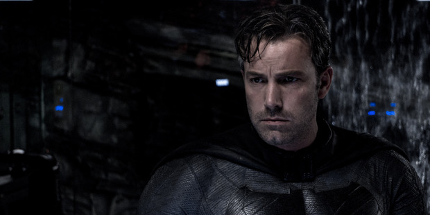 Ben Affleck in Batman v Superman: Dawn of Justice.