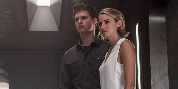 A scene from new Divergent movie, Allegiant.
