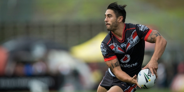 Shaun Johnson is expected to maintain effort over a full 80 minutes. Photo / Jason Oxenham