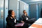 US national security adviser Susan E Rice and President Barack Obama receive an update on the terrorist attacks in Brussels while in Cuba. Photo /  Pete Souza