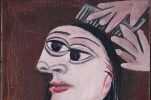 Picasso's  La Coiffure