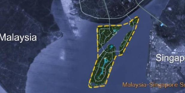 But Singapore is importing its own sand for a planned expansion.