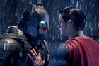 Ben Affleck as Batman and Henry Cavill as Superman in Zach Snyder's Batman v Superman: Dawn of Justice.