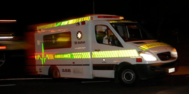 A teenage girl is in serious condition after a two vehicle crash on the West Coast tonight. Photo / File