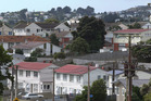 Houses in the predominantly State housing suburb of Cannons Creek, Porirua. Photo / Mark Mitchell