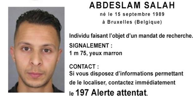 Police photo of 26-year old Salah Abdeslam. Image / AP