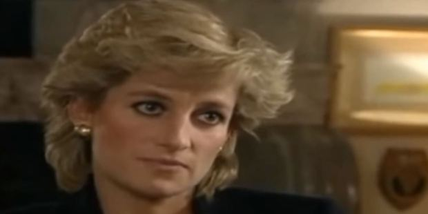In 1995 Princess Diana spoke frankly for the first time about her separation from Charles. Photo / YouTube