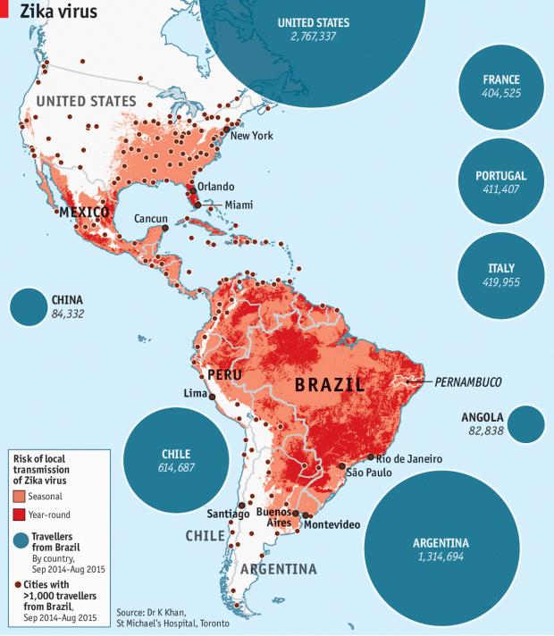 Graphic / The Economist