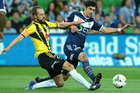 Andrew Durante and Gui Finkler will be teammates next season. Photo / Getty