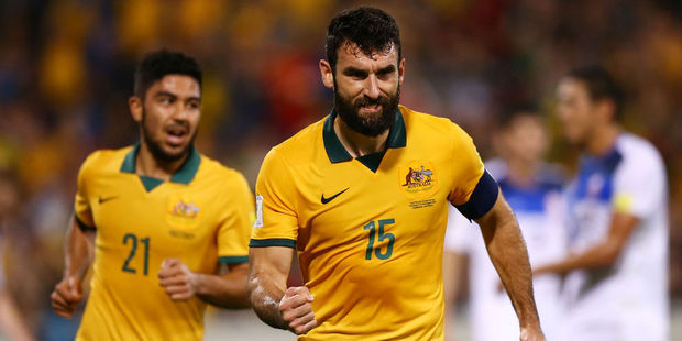 Mile Jedinak of the Socceroos. Photo / Getty