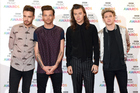 Liam Payne, Louis Tomlinson, Harry Styles and Niall Horan of One Direction. Photo / Getty