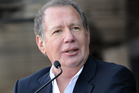 Garry Shandling receives a star on the Hollywood Walk Of Fame in January. Photo / Getty Images