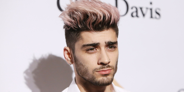 Former One Direction member, Zayn Malik. Photo / Getty Images