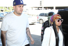 Rob Kardashian and Blac Chyna. Photo / Getty Images