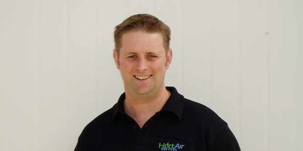 Jason Anderson, owner of Hort Air Services.