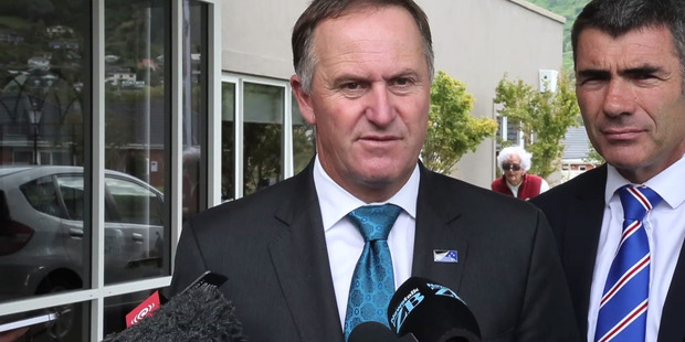 """Loading John Key says Labour's universal income idea is """"utterly unaffordable"""". Photo / Mark Mitchell."""