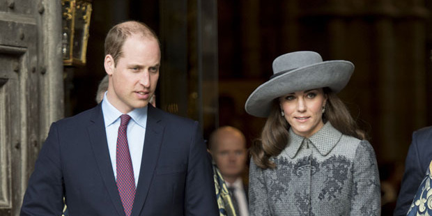 The Duke and Duchess of Cambridge. Photo / Getty Images