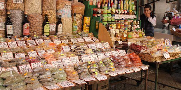 The famous Capo Market. Photo / 123RF