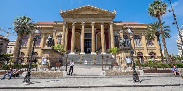 Teattro Vittoria Emanuele in Palermo. Photo / 123RF