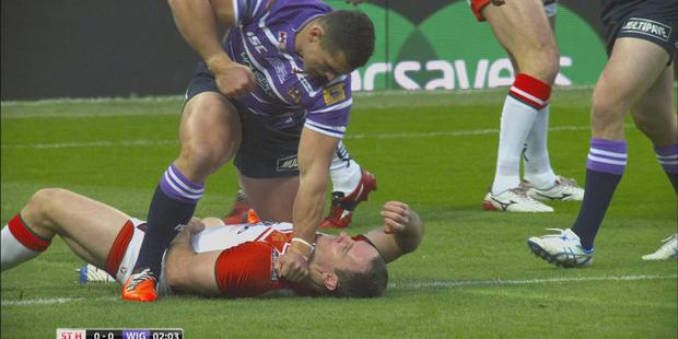 Lance Hohaia's career was never the same after being punched by Ben Flower.