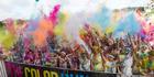 Contestants enjoy the 2016 Colour Run in Albany, Auckland. Photo / Greg Bowker