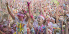 View: The Colour Run in Albany