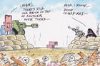 guy body editorial cartoon march 21 2016 syrian ceasefire