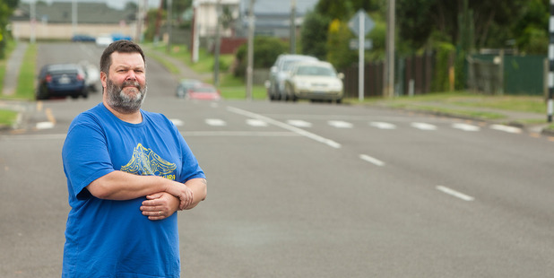Loading Owhata School principal Bob Stiles is pleased with plans to put speed bumps along Brent Rd. PHOTO/BEN FRASER