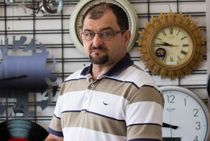 North Shore watchmaker Tim Smith is confident he won't be replaced by a robot any time soon. Picture / Nick Reed