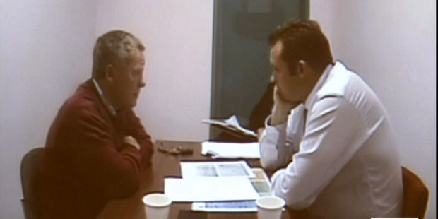Police interview with Jeremy Kerr. Photo / NewsHub