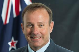 Air Commodore Tony Davies. Photo /  Royal New Zealand Air Force