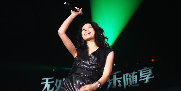 Loading China's singer Karen Mok is set to perform in Auckland on June. Photo / AP