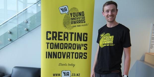 Bluelab's Jono Jones told teachers attending the YIA workshop that innovation began with a problem, not an idea.