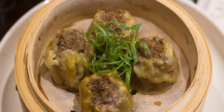 The beef shu mai from White + Wongs. Photo / Dean Purcell