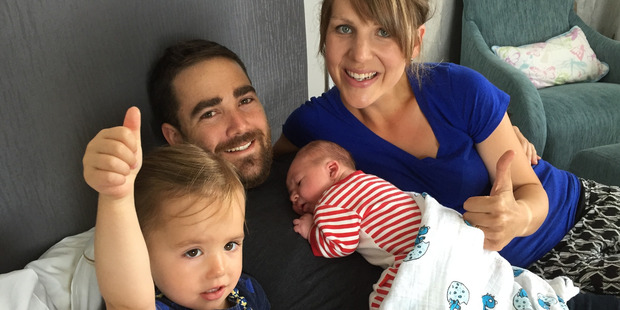 Doug Maarschalk with wife Beth, daughter Lucy and son Mitchell. Photo /  Supplied