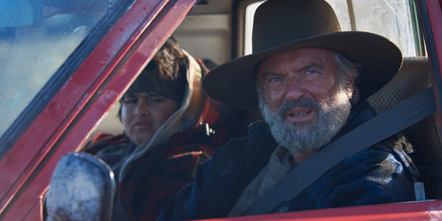 The Hunt for the Wilderpeople starring Sam Neill and Julian Dennsion. Photo / Supplied