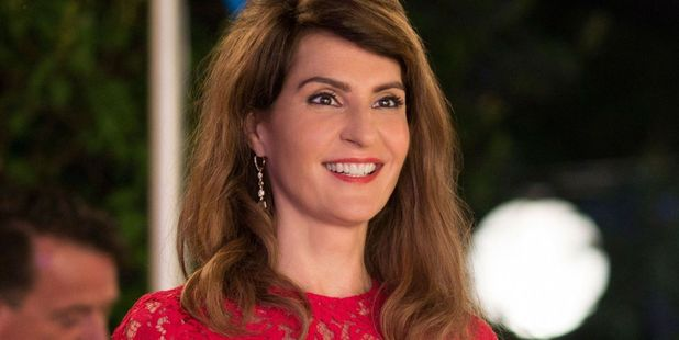Loading Nia Vardalos stars as Toula Miller in My Big Fat Greek Wedding 2.