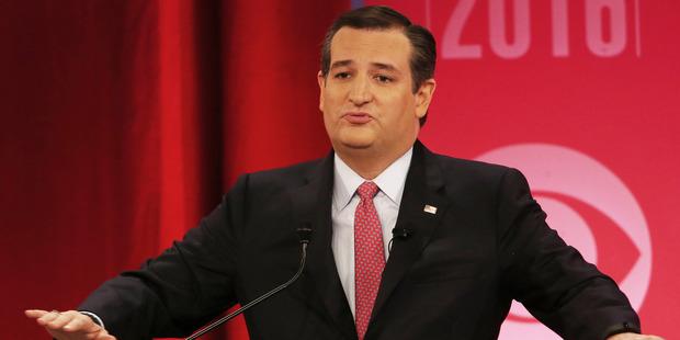 """Leave Heidi the hell alone,"" Ted Cruz has said. Photo / AP"