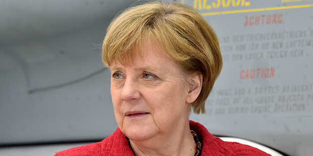 German Chancellor Angela Merkel is No. 2 on the annual ranking. Photo / AP