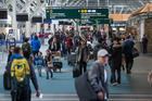 An Auckland Airport spokesman said its security measures were based on advice from government agencies, and it had not been warned of an increased risk. Photo / AP