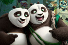 It's up to Po to teach his new found panda family - yes, Po is no longer the only cute panda in town - how to use their unique panda abilities to save Kung Fu and the world. Photo / AP