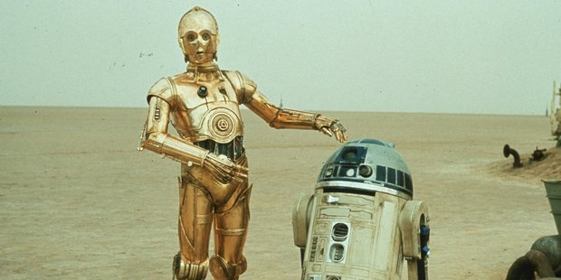 Even Star Wars predicted people would be replaced in industry by R2D2, C3P0 and their buddies.