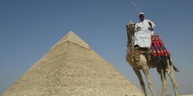 Sunniva Holt dreams of Egypt. Photo / Alan Gibson