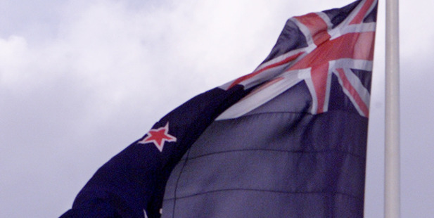 Young New Zealanders are leading the opposition to a change of national flag, New Zealand First leader Winston Peter says.